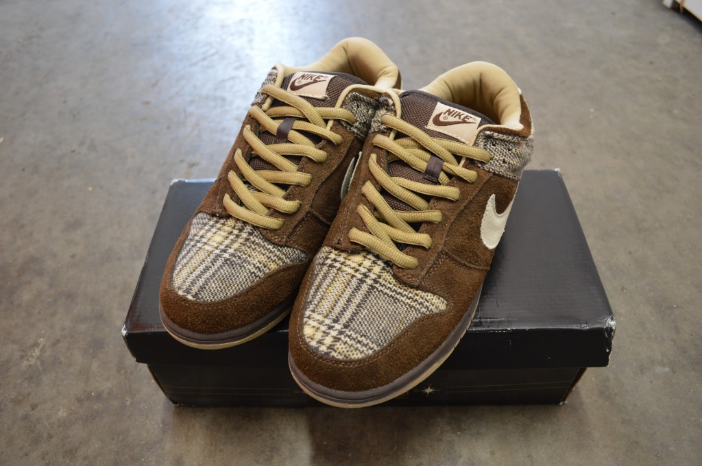 tweed dunks