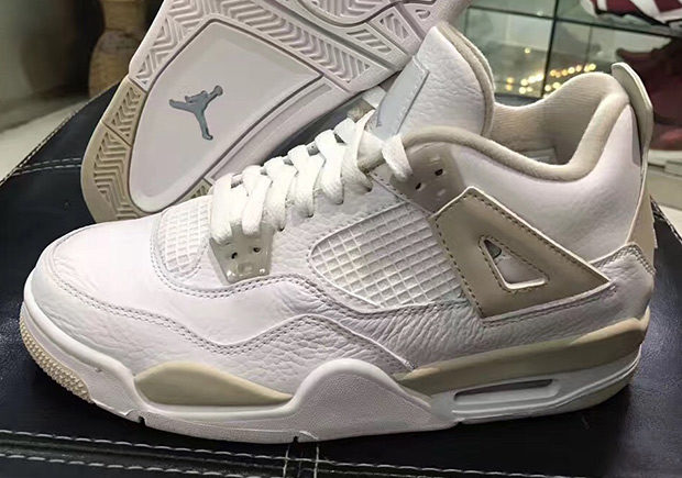"b4ced31df83 Do It For The Children: Nike Is Blessing The Kids With The Jordan IV ""Linen"""
